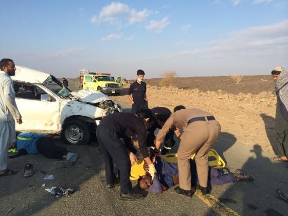 حادث مصرع طريق الحره (2)