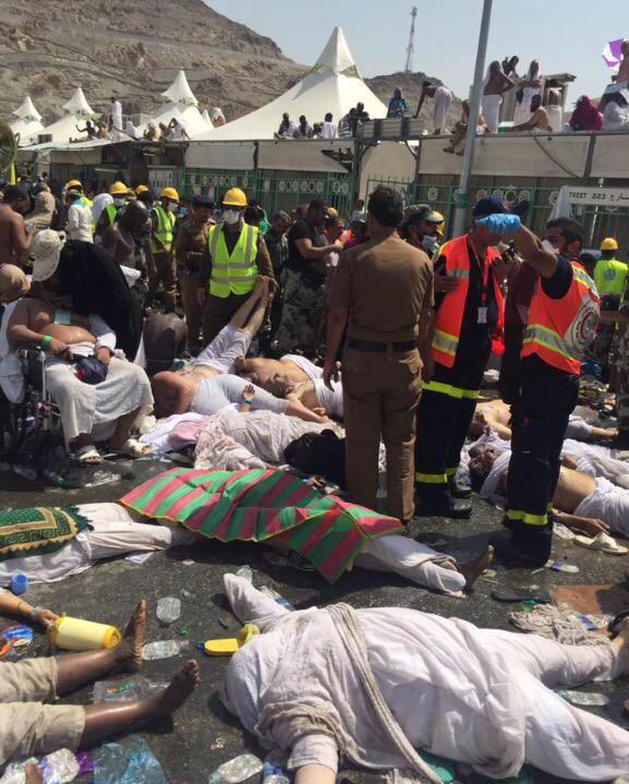 المتحدث الرسمي للدفاع المدني: وفاة 310 حجاج وإصابة 450 آخرين في حادث تدافع مِنى. - المواطن