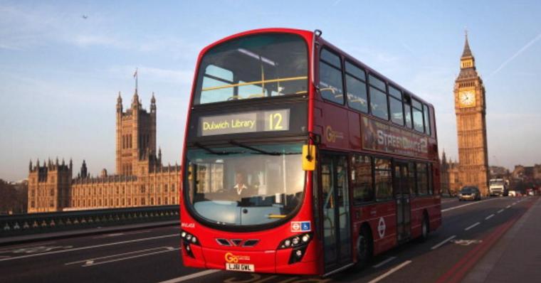 حافلة ركاب في لندن