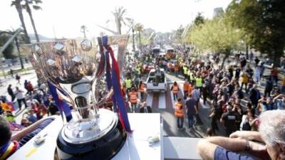 حافلة فريق برشلونة