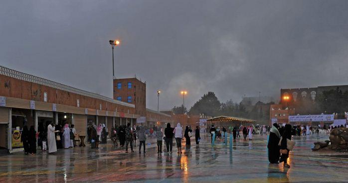 غبار وأمطار رعدية غدًا   صحيفة المواطن الإلكترونية