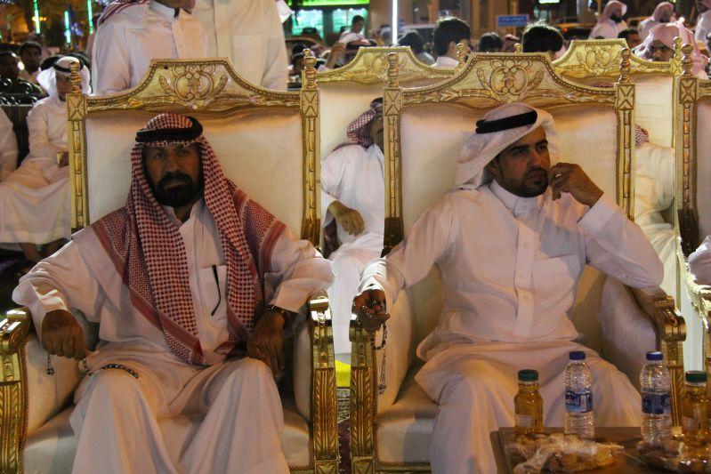حامد الضبعان يشعل حفل أهالي رفحاء بعيد الفطر (12)