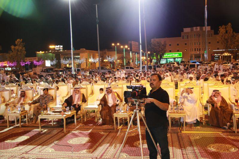 حامد الضبعان يشعل حفل أهالي رفحاء بعيد الفطر (16)