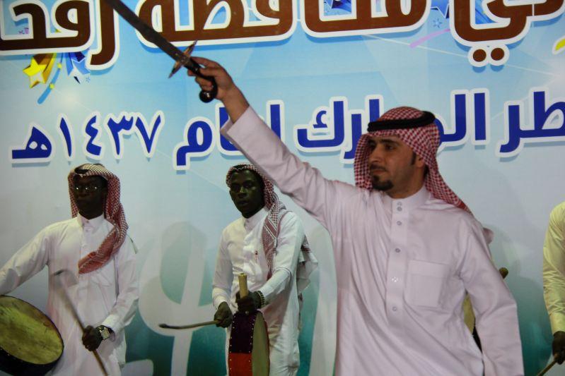 حامد الضبعان يشعل حفل أهالي رفحاء بعيد الفطر (36)