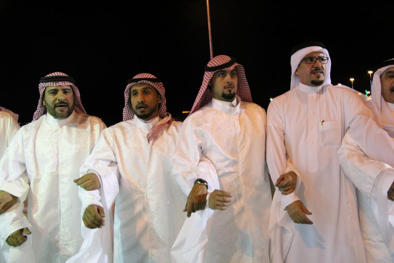 حامد الضبعان يشعل حفل أهالي رفحاء بعيد الفطر (37)