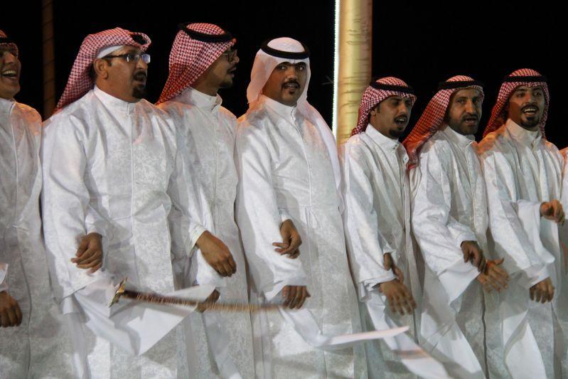حامد الضبعان يشعل حفل أهالي رفحاء بعيد الفطر (38)