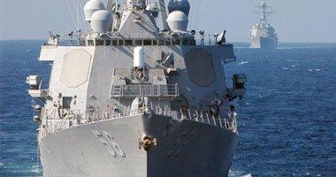 حاملة طائرات أمريكية تقصف مواقع لداعش من البحر المتوسط