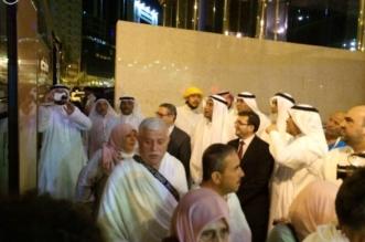 أول فوج من الحجاج الأتراك يصل إلى مكة المكرمة - المواطن