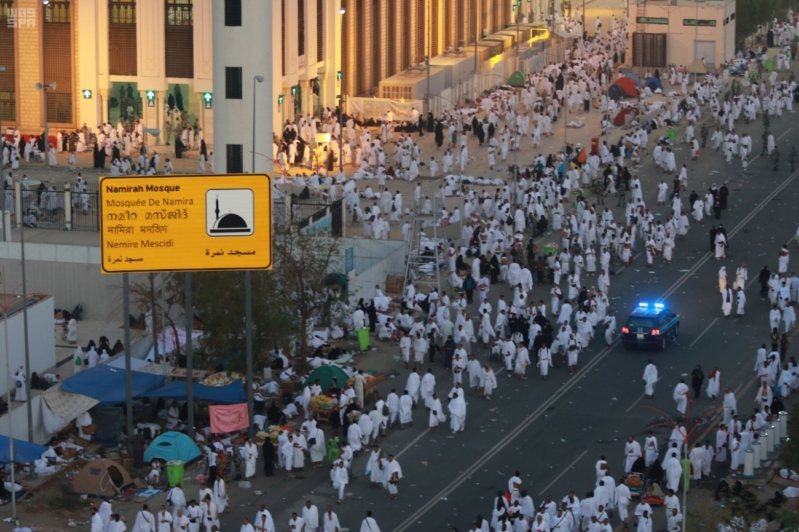 حجاج بيت الله في صعيد عرفات (1)
