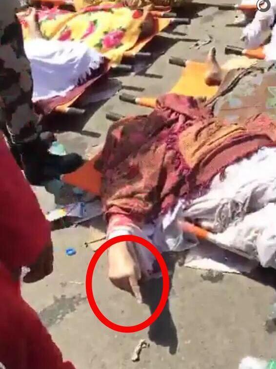 بالصور.. حجاج توفّوا وهم رافعون السبابة بكلمة التوحيد - المواطن