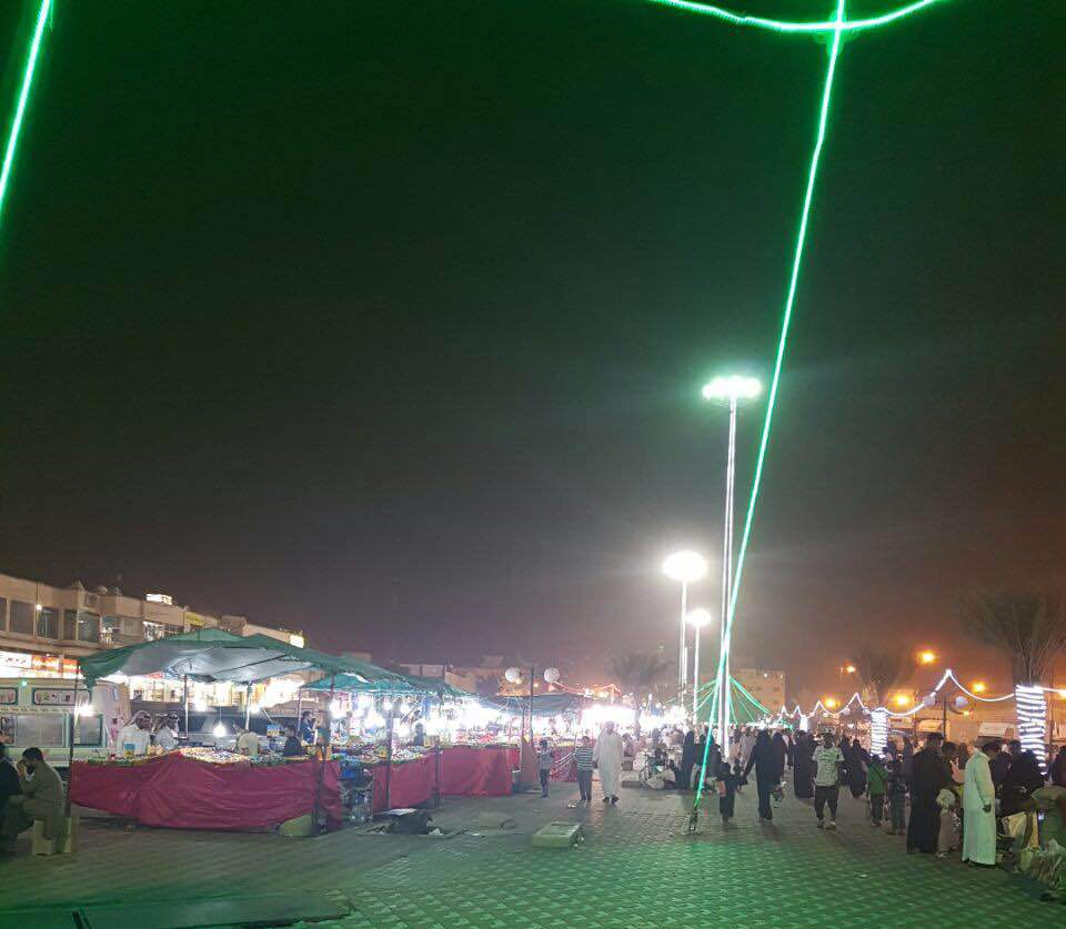 حدائق جديدة تستقبل الزوار خلال أيام العيد بخميس مشيط (4)
