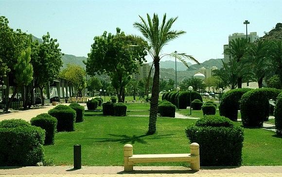 حدائق-مكة
