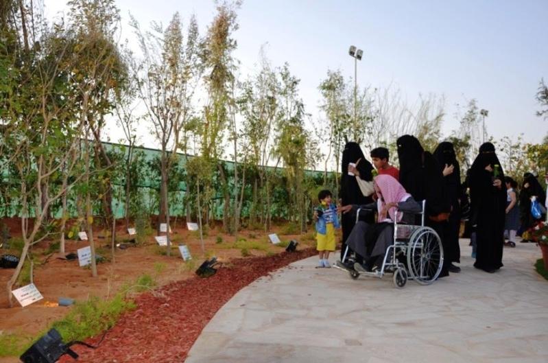 غابة محلية في مهرجان ربيع الرياض للتوعية بأهمية الأشجار