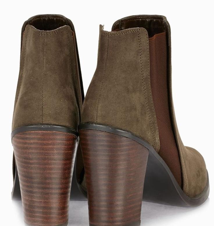 حذاء كعب عريض1