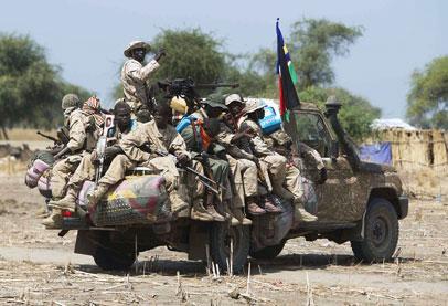 حرب جنوب السودان