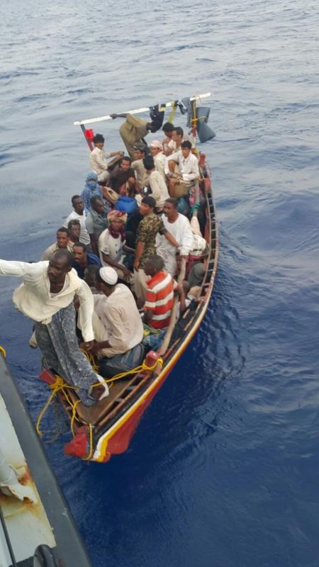 حرس الحدود يُحبط تسلل 67 شخصاً قادمين من السودان (1) 