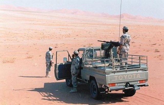 بلغ عدد العربات التي دمرها رجال حرس الحدود بجازان خلال يومي السبت والاحد خمس عربات تحمل ذخيرة وافراد