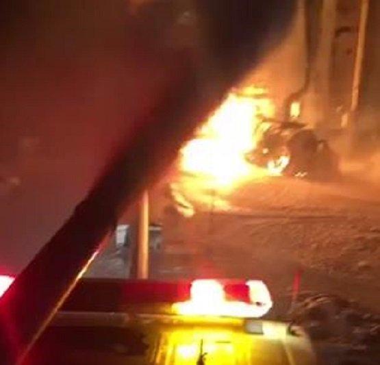 حريق ارامكو