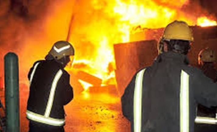 حريق-اطفاء-الدفاع-المدني