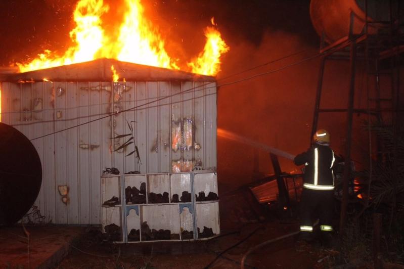 حريق الجوف (1) 