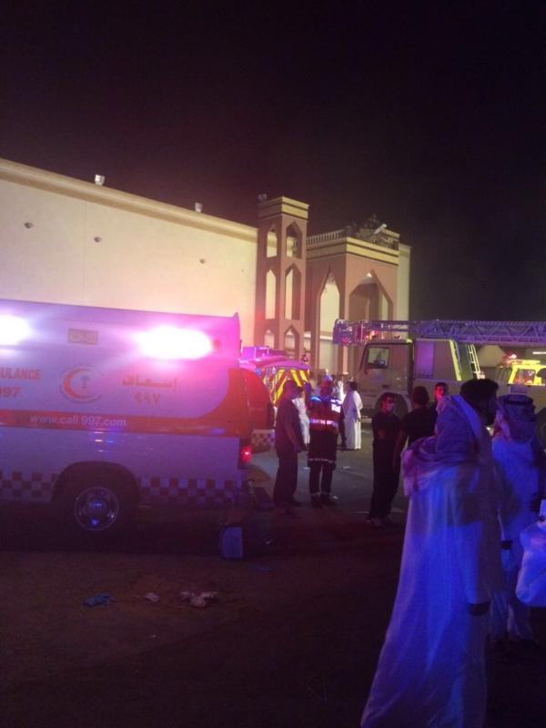 حريق الرياض 1