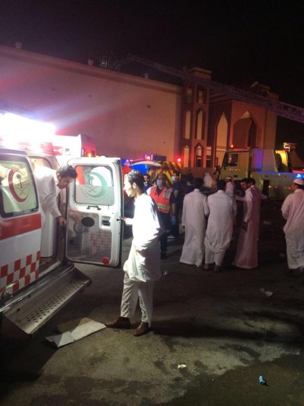 حريق الرياض