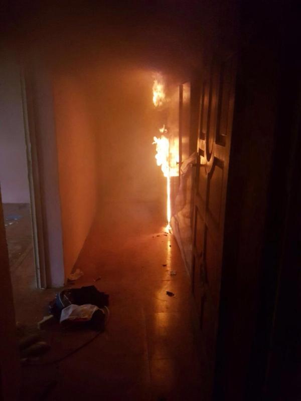 حريق القنفذة