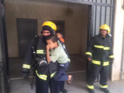 حريق المدينة المنورة (2)