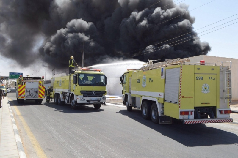 حريق بالصناعية