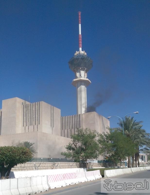 حريق-برج-التلفزيون-السعودي (9)