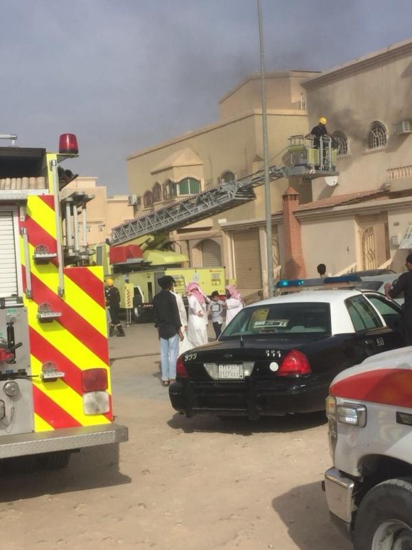 حريق بسبب الأحمال الكهربائية يُصيب 5 باختناق في بريدة