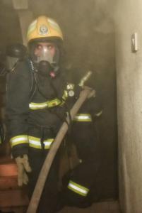 حريق بشقة6