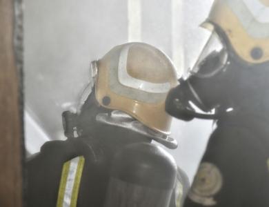 حريق بشقة7
