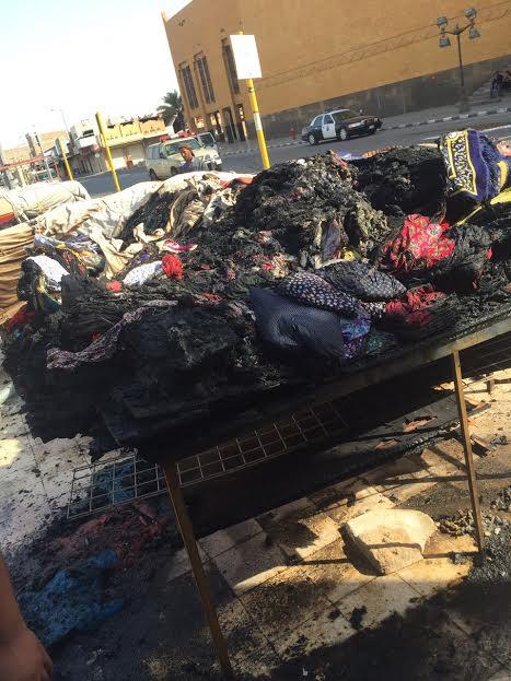 حريق بمحلات بريدة (167074645) 