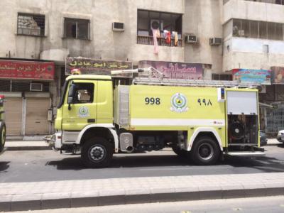 حريق بمحل تنجيد3