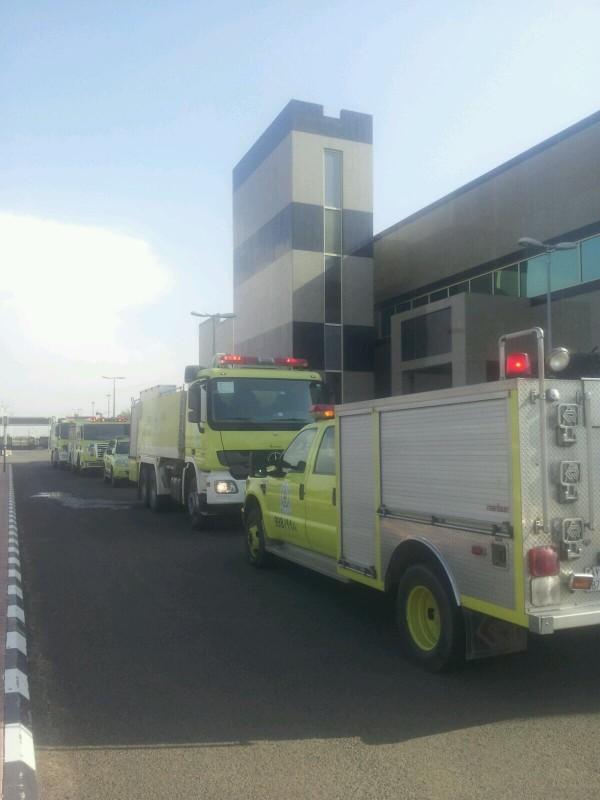 حريق-بمستشفى-بيش (2)