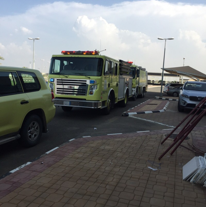 حريق-بمستشفى-بيش (3)