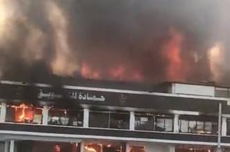 مدني جدة: لا شبهة جنائية وراء حريق حمادة - المواطن