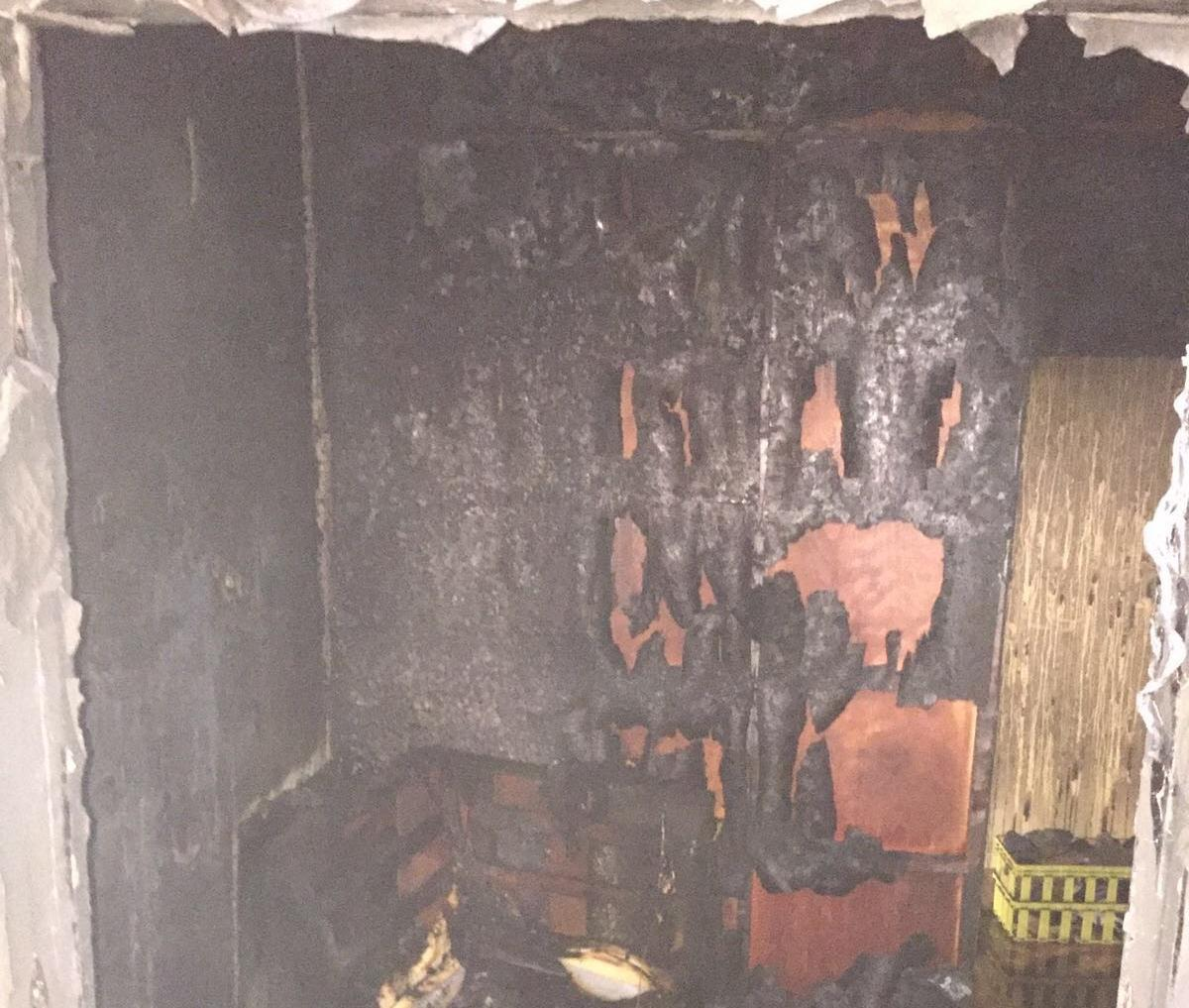 حريق جنوب حي الجامعة بجدة (4)