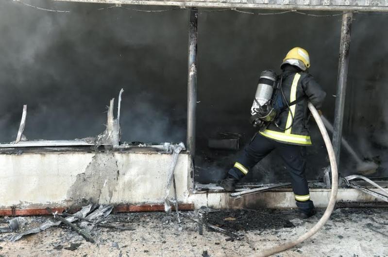 حريق حائل4