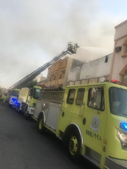 حريق حي الثقبة (3)
