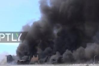 بالفيديو.. تصاعد أعمدة الدخان وسط روما - المواطن