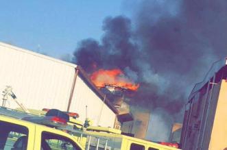 بالصورة.. مدني #سكاكا يباشر حريقاً بمبنى في حي الشلهوب - المواطن