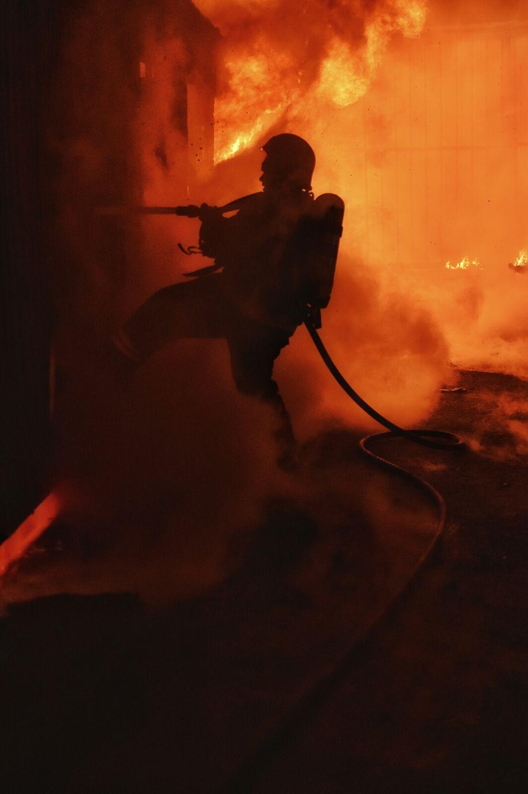 حريق-سكن-عمال-بحائل (10)