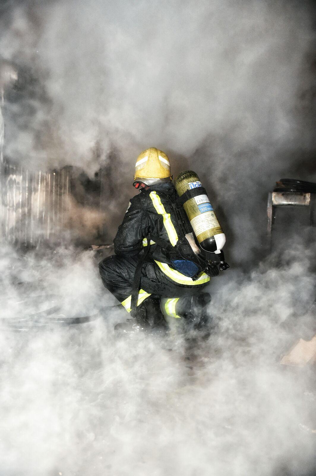 حريق-سكن-عمال-بحائل (13)