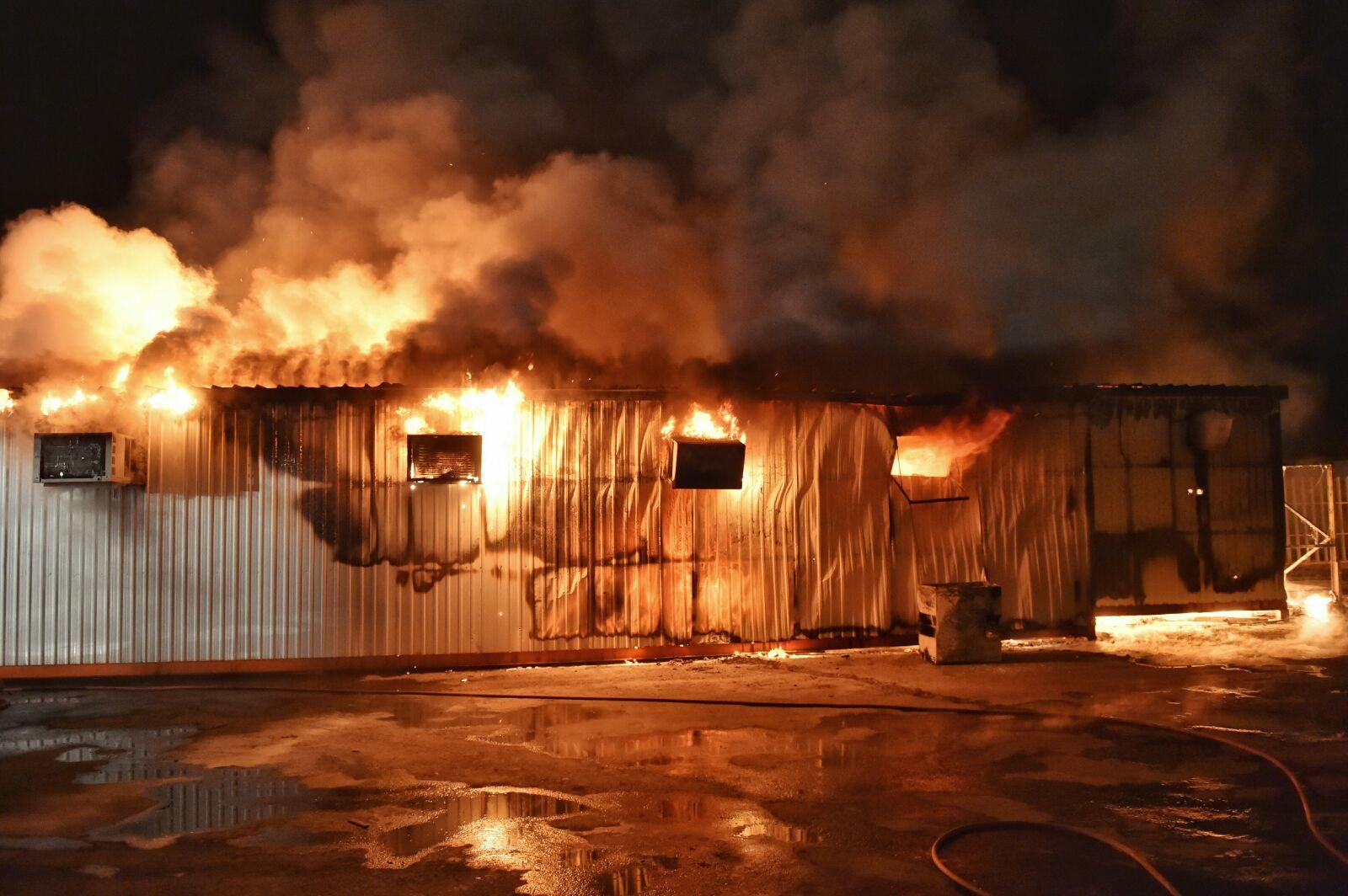 حريق-سكن-عمال-بحائل (16)