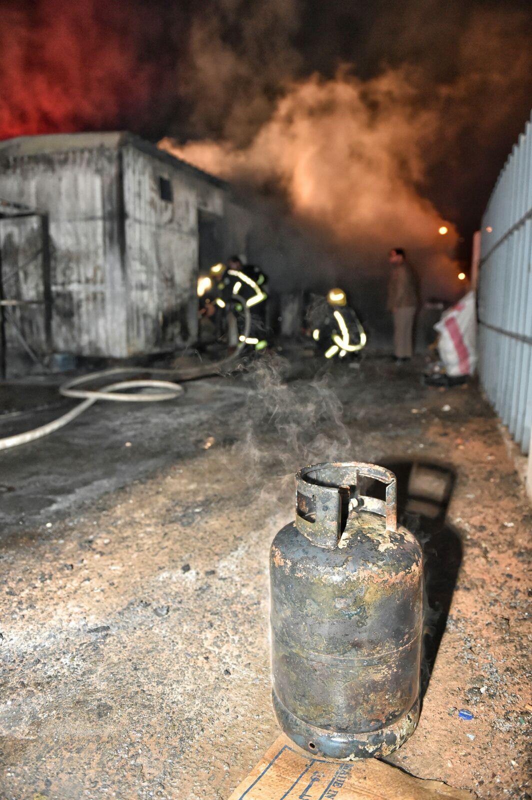 حريق-سكن-عمال-بحائل (8)