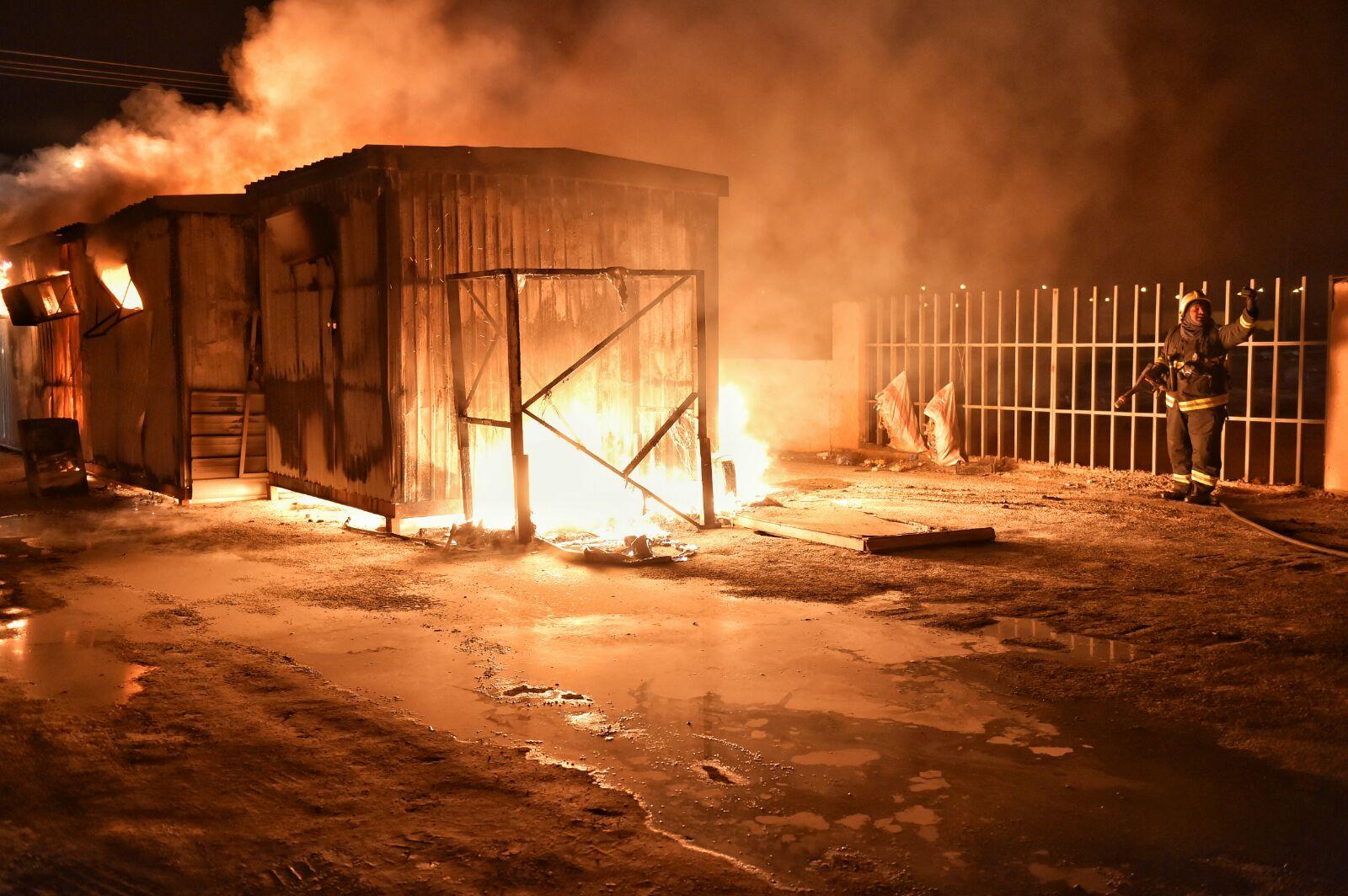 حريق-سكن-عمال-بحائل (9)