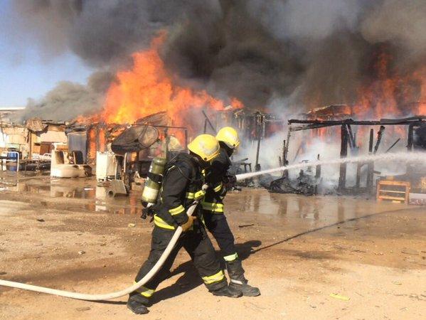 حريق-سكن-عمال-برفحاء (1)