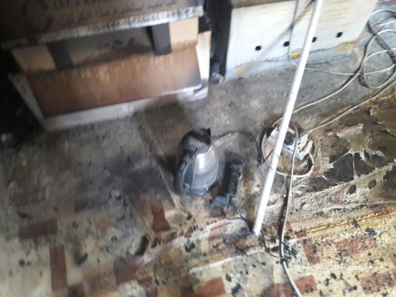 حريق شقة ابها (1)